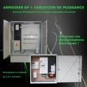 Armoires d'Eclairage Public + variateur/régulateur de tension